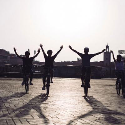 Photo Balade nocturne de Marrakech en vélo