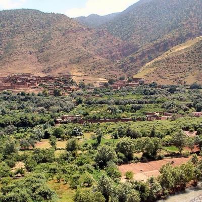 Photo Excursion vallée de l'Ourika et visite des cascades Setti Fatma