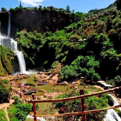Photo Excursion aux cascades d'Ouzoud depuis Marrakech