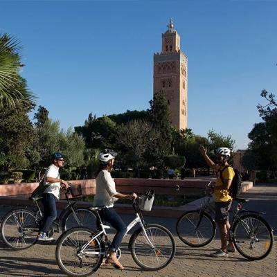 Photo Marrakech vélo tour