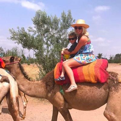 Photo Campagne et palmeraie de Marrakech: balade d'1h en chameau