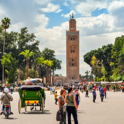 Photo Visiter les monuments de Marrakech