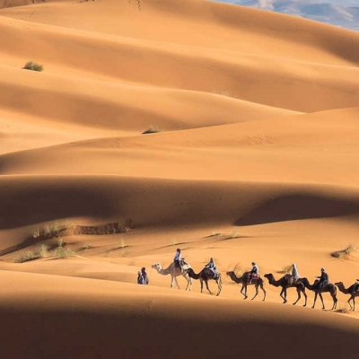 Photo Depuis Marrakech: visite et nuitée dans le désert