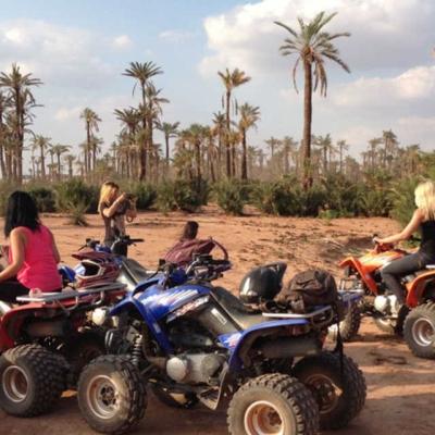 Photo Marrakech: aventure en quad de 3heures
