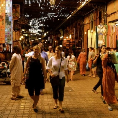 Photo Marrakech: visite privée d'une demi-journée à pied