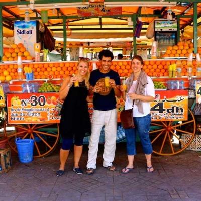 Photo Marrakech: visite privée d'une journée