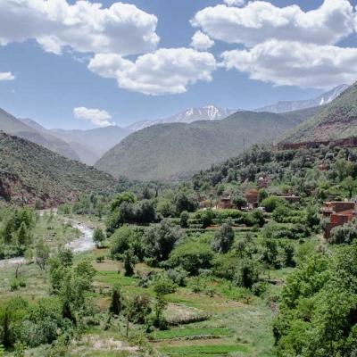 Photo Randonnée sur l'Atlas et dans la vallée de l'Ourika