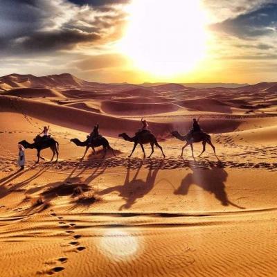 Photo Safari au désert de 3jours de Marrakech à Merzouga