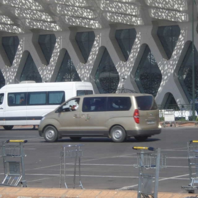 Photo Transport privé depuis/vers l'aéroport de Marrakech-Menara